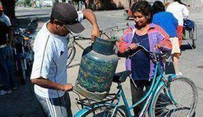 Los calingastinos se quejan por faltante de gas en garrafa