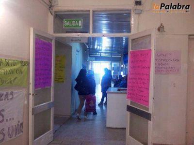 Hospitalarios de Patagones realizaron hoy una sorpresiva retención de servicios