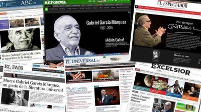 La noticia de la muerte de Gabo en los medios internacionales