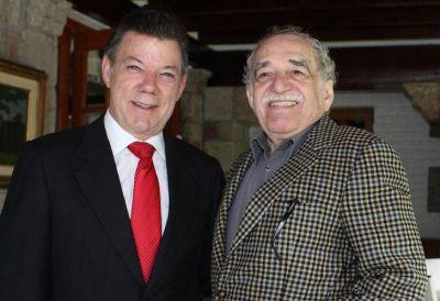 """Santos despidió a Gabo: """"Mil años de soledad y tristeza"""""""