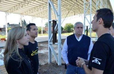 El Municipio capitalino reactivó la construcción del Centro Deportivo de Alto Rendimiento