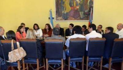 Corpacci comprometió más ayuda para el departamento Santa Rosa