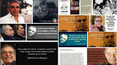 #GabrielGarciaMarquez copó la web