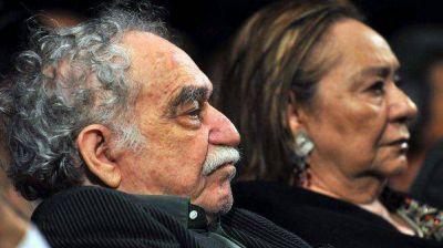 """La viuda de García Márquez está """"llena de tristeza"""""""
