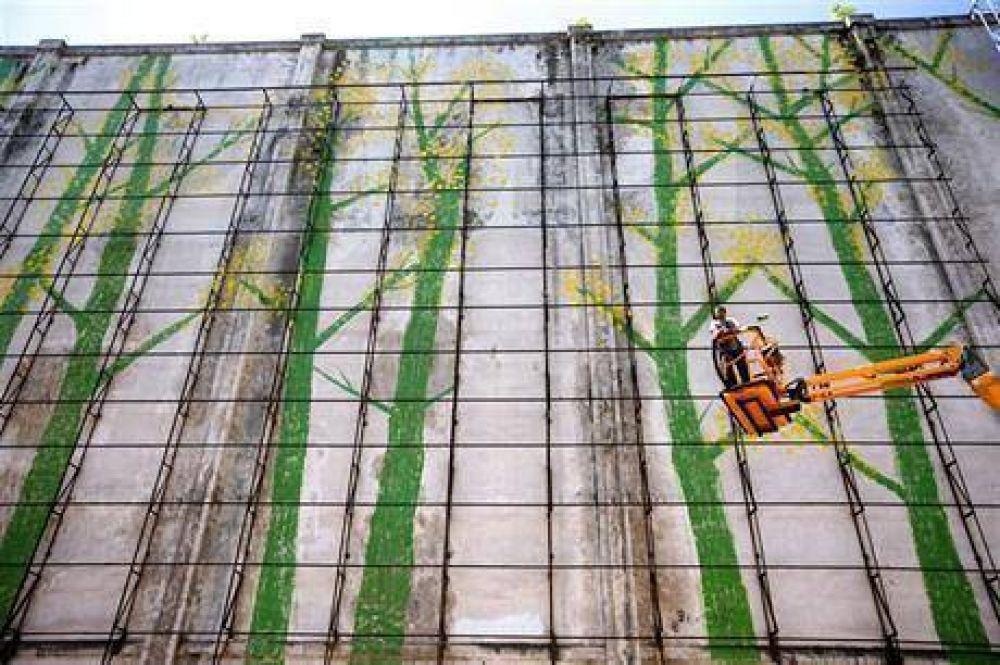 """La Boca, revolucionada con la """"guerra"""" de los murales"""