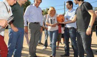 Scioli impulsa el deporte y la inclusión en Tigre