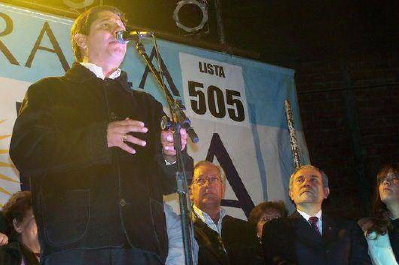 Compromiso -Kon- Jujuy realizó un fuerte acto político