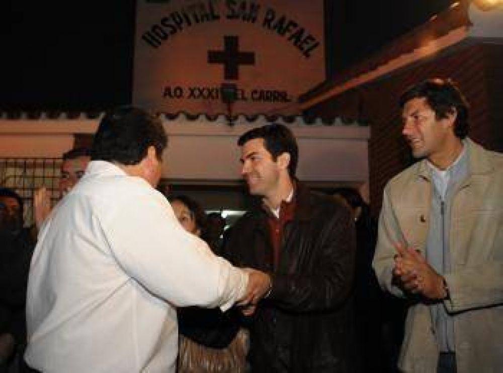 El hospital de El Carril recibió los fondos para la adquisición de un ecógrafo.