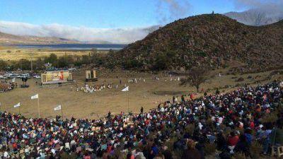 Miles de turistas y tucumanos revivieron la Pasión de Cristo en Tafí del Valle