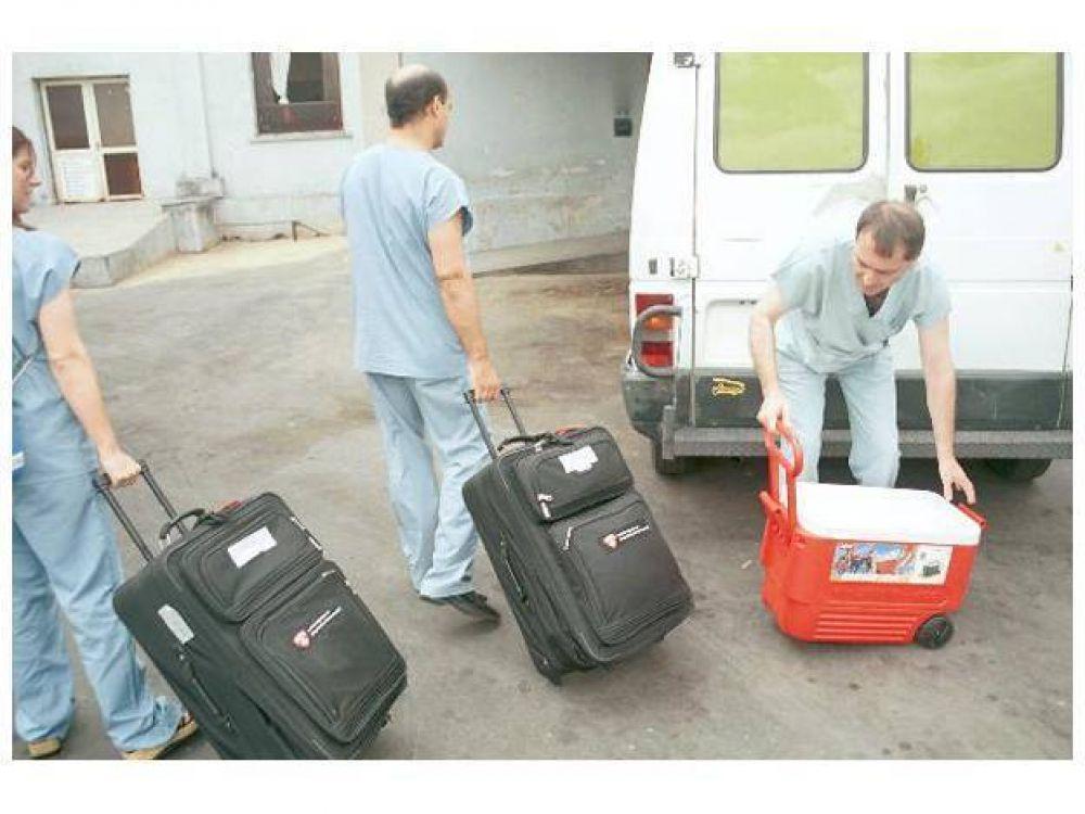 Nueva donación multiorgánica permite trasplantar cuatro pacientes