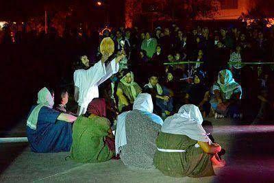 Se representó el Via Crucis en la Plaza Carlos Gardel de Virreyes