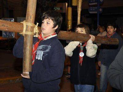La ciudad de Cañuelas vivió su Vía Crucis