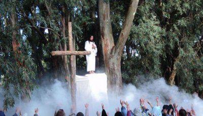 Se llevó a cabo otra exitosa edición del Vía Crucis en Claromecó