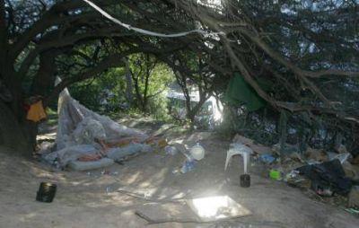 Crecen dos asentamientos en el Parque Sarmiento