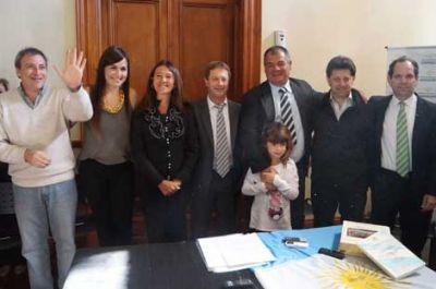 Juraron los nuevos integrantes del gabinete municipal