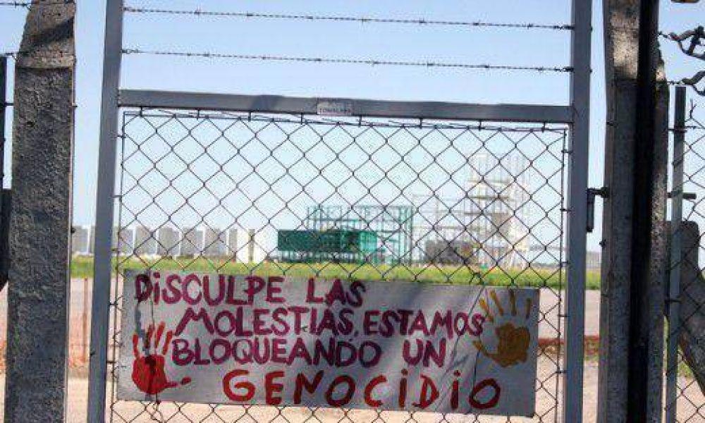 Monsanto: a 7 meses del acampe, asambleístas se reúnen con Ambiente