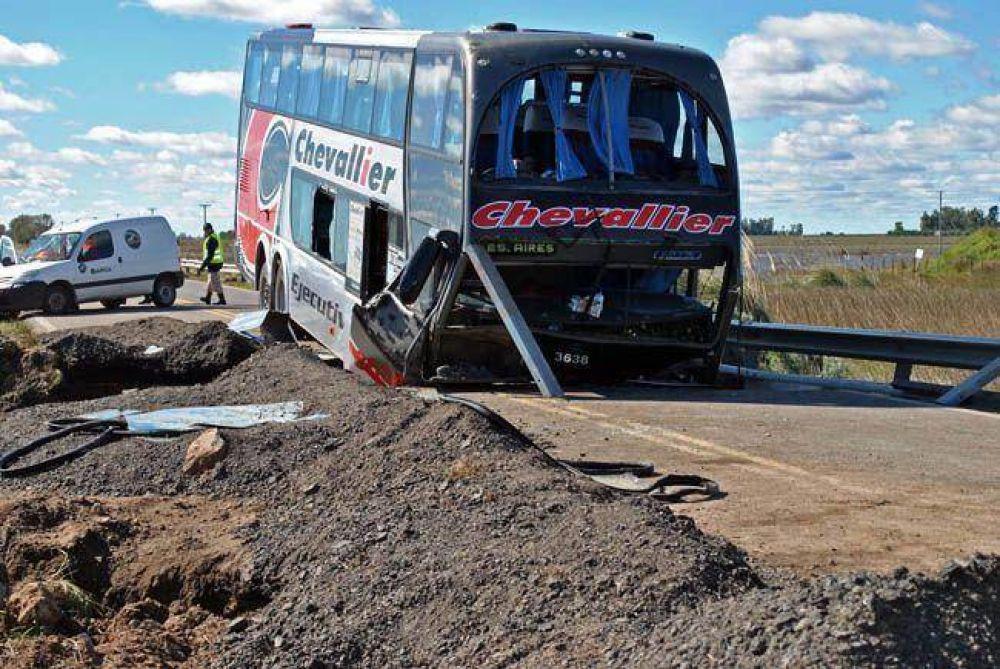 Habilitaron la ruta 188 para el tránsito liviano