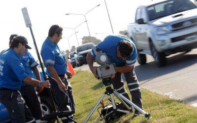 Comienzan las multas por radares en distintos puntos de la ciudad
