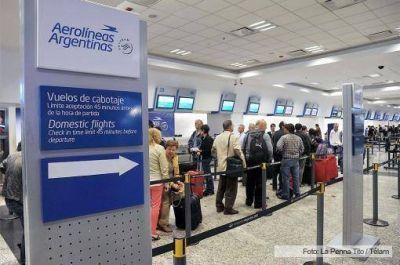 Aerolíneas lideró las estadísticas de puntualidad en Semana Santa