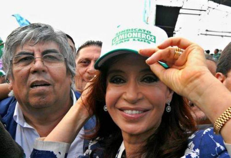 Moyano denunció que el Gobierno promovió un millonario embargo a camioneros