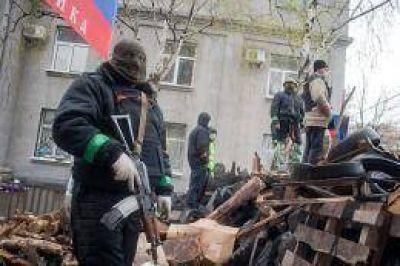 Secuestraron al jefe de policía de la ciudad ucraniana de Kramatorsk