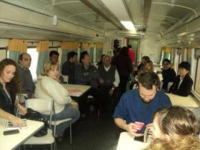 El tren de Desarrollo Social atiende hasta el s�bado en Bragado