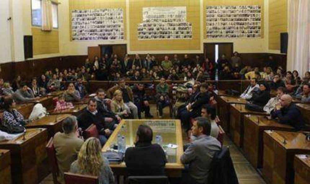 Beneficiarios del Procrear presentaron sus inquietudes en el Concejo Deliberante