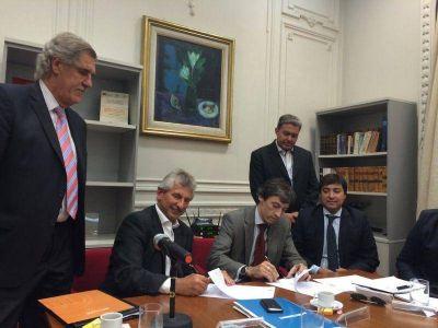 AFERA firmó un convenio con Nación Factoring