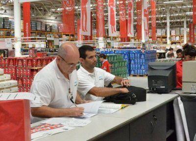 San Mart�n infraccion� nuevamente a grandes cadenas de supermercados