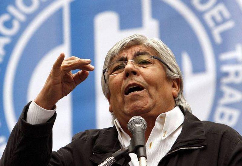 Luego del paro, Hugo Moyano convoca a una marcha a Plaza de Mayo