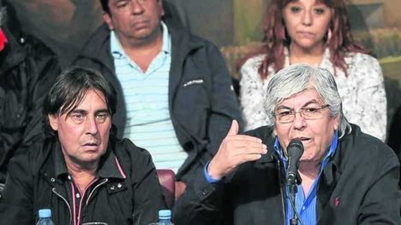Por la movilizaci�n del 14, se reabre la interna en el sindicalismo opositor