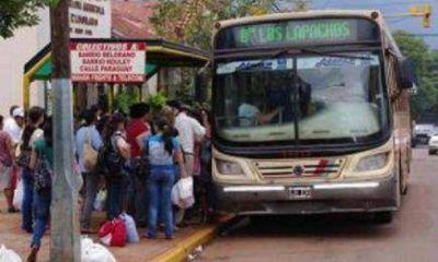Eldorado: Desde mayo aumentará el boleto único de pasajeros