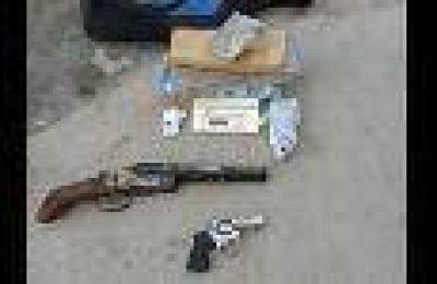 Detuvieron a siete jóvenes y secuestraron dos armas de fuego tras un violento asalto en San Rafael