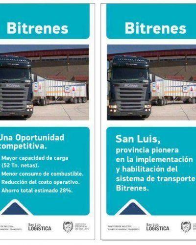 Provincia pionera: en San Luis los bitrenes circulan desde el 2012
