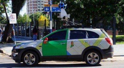 El auto de Google View Street llegó al Chaco