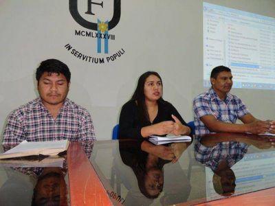 Originarios destacan apoyo del Gobierno y la UNaF para acceder a estudios superiores