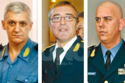 Ponen bajo la lupa el patrimonio de tres ex altos jefes policiales