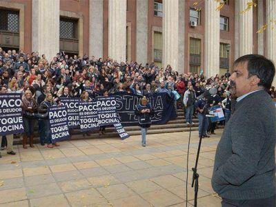 Se suspendió por cuarta vez la paritaria con los judiciales y se endurece el frente gremial