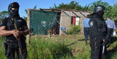 Imponente operativo: detuvieron a varios presuntos motochorros y secuestraron armas y drogas