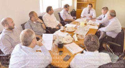 Damián Itoiz fue ratificado como titular de la empresa Grupo Servicios Junín