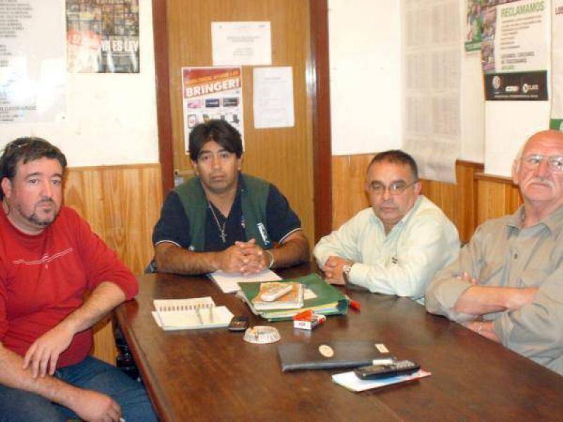 Los trabajadores de ATE en lucha contra IOMA y Municipio