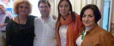 Integrantes del PRO de Chacabuco estuvieron con María Eugenia Vidal