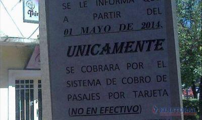 Chaco-Corrientes: sólo podrán viajar quienes tengan Tarjebus