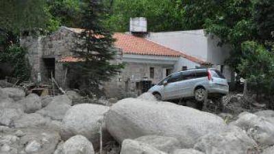 Hubo alerta meteorológica la noche que ocurrió el aluvión en El Rodeo y Siján
