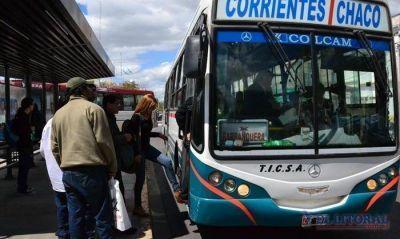 El cambio a tarjetas genera incertidumbre en usuarios del colectivo Chaco-Corrientes