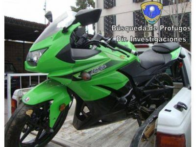 En busca de un hermano de la Yaqui secuestraron una moto que era utilizada por la familia
