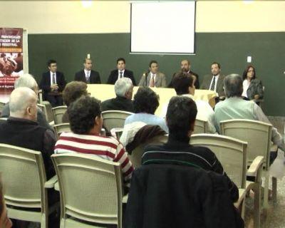 Primeras Jornadas Provinciales de capacitación de la actividad registral