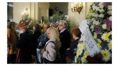 Los restos de Norma Pons fueron velados en la Legislatura porteña