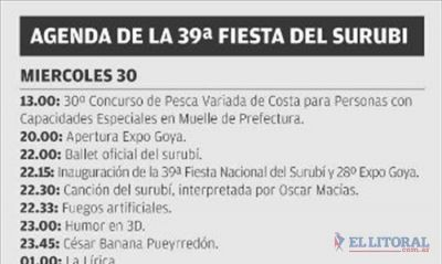 Con la apertura de la Expo, inicia la 39� Fiesta Nacional del Surub�