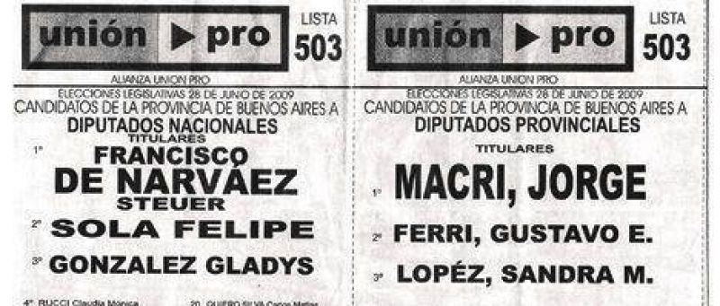 Crece la campaña sucia: descubren 45 mil boletas falsas de De Narváez.